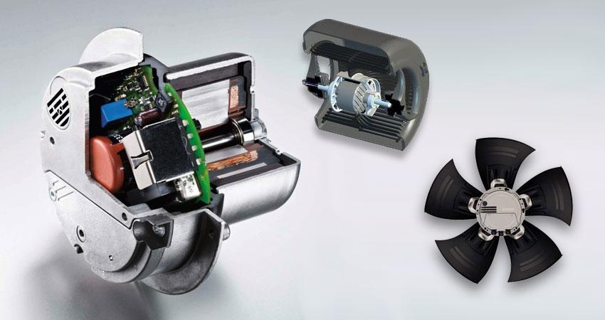 Klimaschränke und Rückkühler mit EC-Motoren